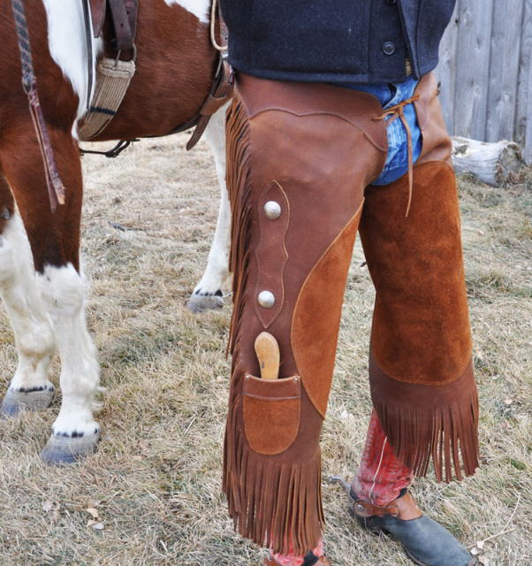 Leather Shoeing Chaps