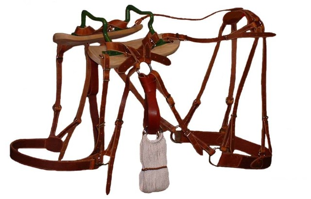 how to build a pack saddle tree
