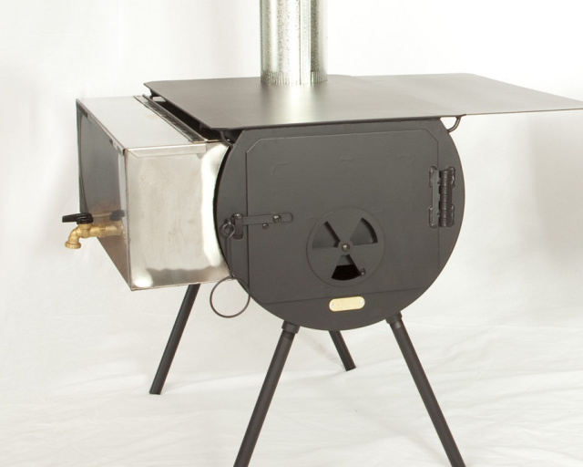 Yukon Wood Stove Package $499.99 & Cylinder Stove Packages-Cylinder Stove-Stove Jack-Wall Tent Stove