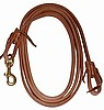 Hermann Oak Leather Flat Roping Rein 6 Size Choices-Same Price