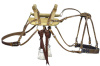 Sawbuck Pack Saddle with Roller Buckle Straps - Latigos & Cinch