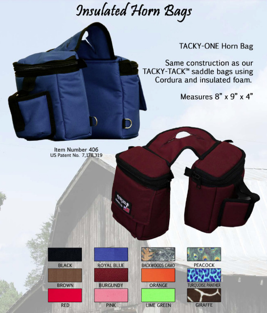 Equi Tech Insulated Horn Bags Color Choices