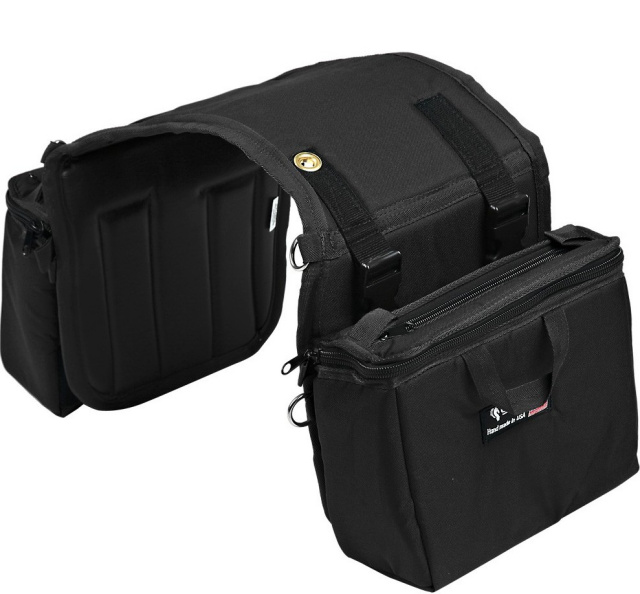 Equi Tech Insulated Small Detachable Saddle Bags